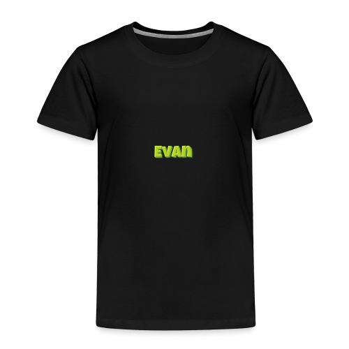 Evan - Toddler Premium T-Shirt