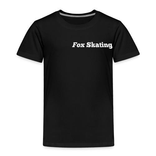 Fox Skating - Toddler Premium T-Shirt