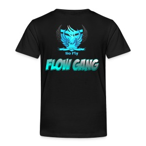 Flow Gang With So Fly Official Logo - Toddler Premium T-Shirt