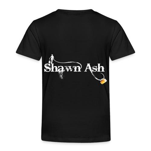 Shawn Ash No Background Logo - Toddler Premium T-Shirt