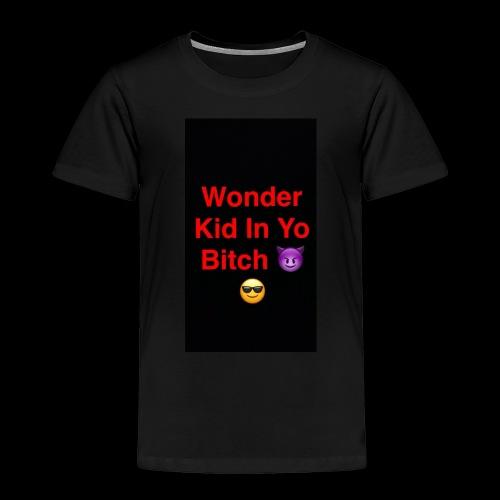 snapchat logo 6 - Toddler Premium T-Shirt