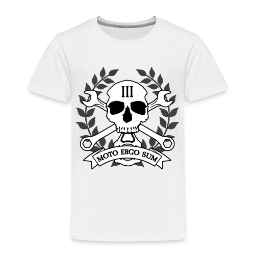 Moto Ergo Sum - Toddler Premium T-Shirt