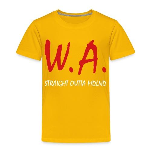 Straight Outta MDLND - Toddler Premium T-Shirt