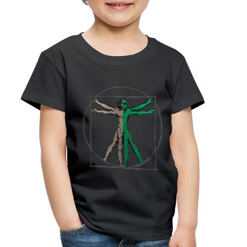 Da Vinci Alien Man - Toddler Premium T-Shirt