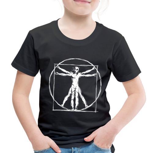 Da Vinci Vitruvian Alien Man - Toddler Premium T-Shirt
