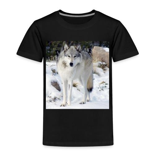 Canis lupus occidentalis - Toddler Premium T-Shirt