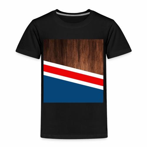 Wooden stripes - Toddler Premium T-Shirt
