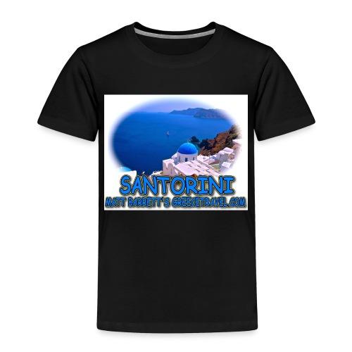 SANTORINI CHURCH jpg - Toddler Premium T-Shirt