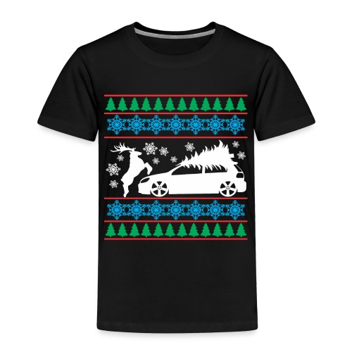 MK6 GTI Ugly Christmas Sweater - Toddler Premium T-Shirt