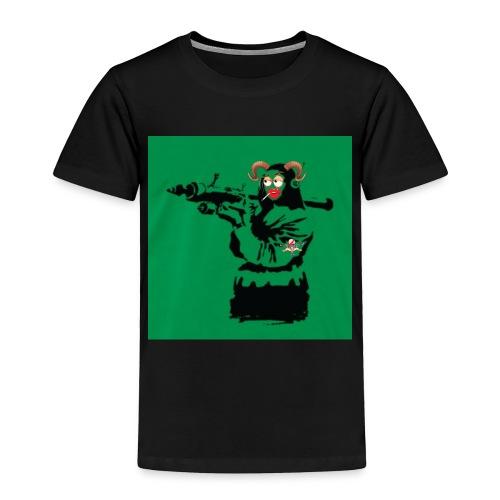 Baskey mona lisa - Toddler Premium T-Shirt