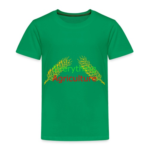 Everything Agriculture LOGO - Toddler Premium T-Shirt