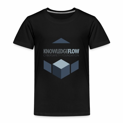 KnowledgeFlow Cybersafety Foundation - Toddler Premium T-Shirt