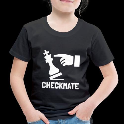 Checkmate | Chess Champion - Toddler Premium T-Shirt
