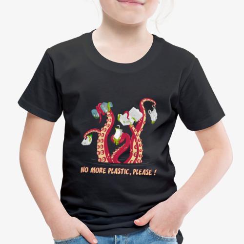 Octopus No More plastic - Toddler Premium T-Shirt