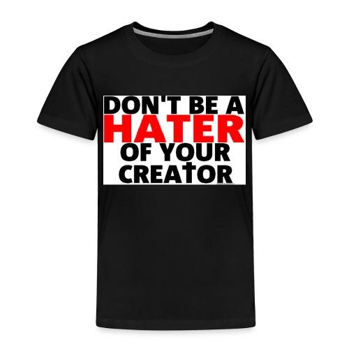 h8r shirt - Toddler Premium T-Shirt