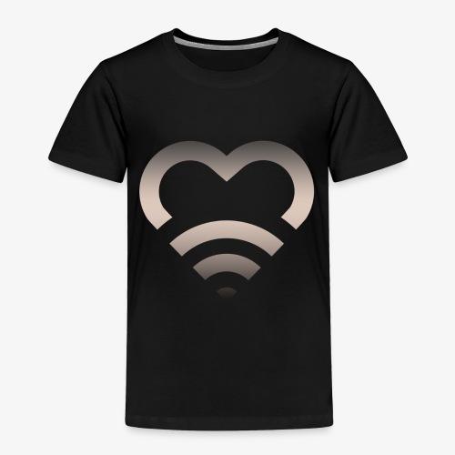 I Heart Wifi IPhone Case - Toddler Premium T-Shirt