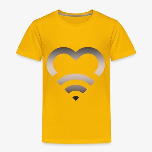I Heart Wifi IPhone Case - Toddler Premium T-Shirt