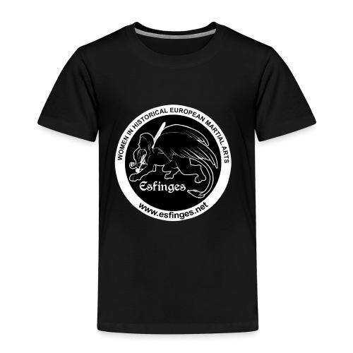 Esfinges Logo Black - Toddler Premium T-Shirt