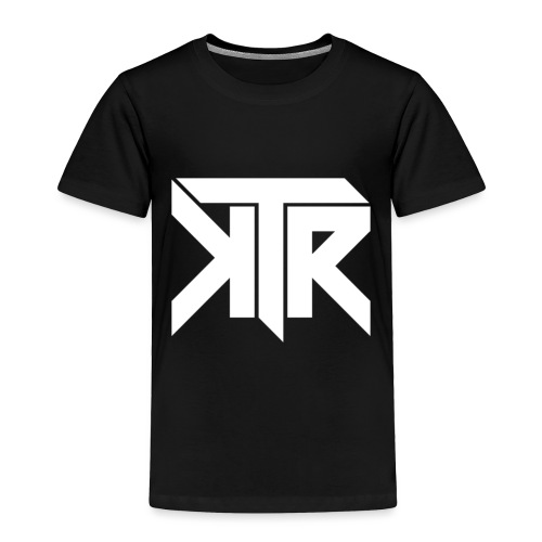 KTR Logo White - Toddler Premium T-Shirt