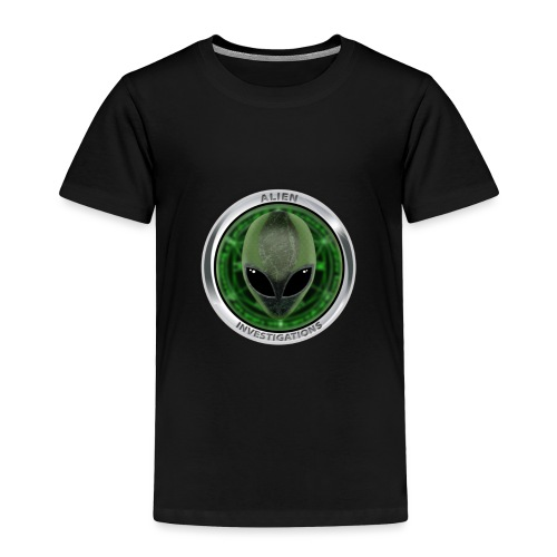 New Alien Investigations Head Logo - Toddler Premium T-Shirt