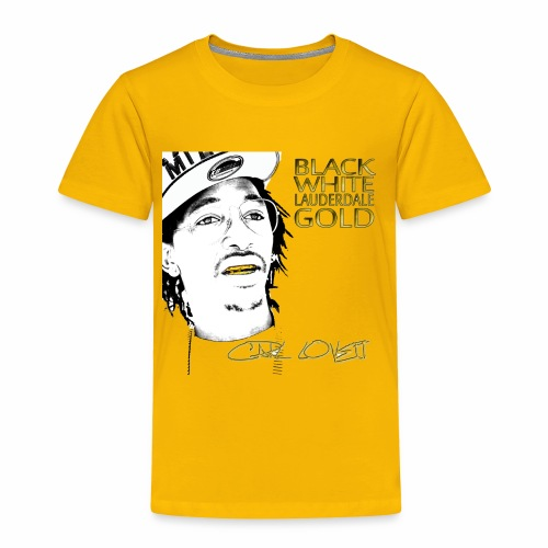 Carl Lovett Lauderdale Gold - Toddler Premium T-Shirt