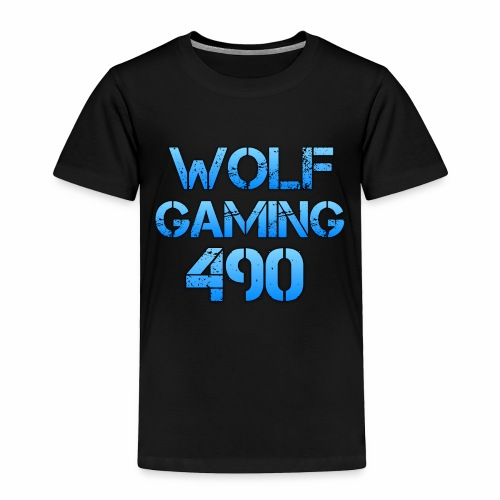 Wolfgaming490 Logo - Toddler Premium T-Shirt