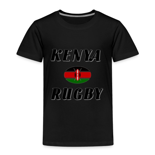 Kenya rugby - Toddler Premium T-Shirt