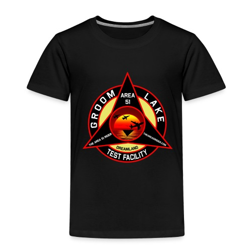 THE AREA 51 RIDER CUSTOM DESIGN - Toddler Premium T-Shirt