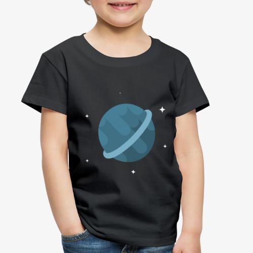 Tiny Blue Planet - Toddler Premium T-Shirt
