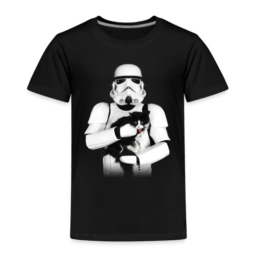 Stormtrooper w/ Cat 3 - Toddler Premium T-Shirt