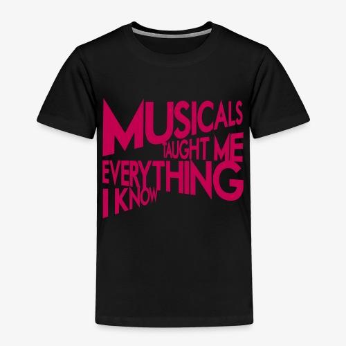 MTMEIK Pink Logo - Toddler Premium T-Shirt