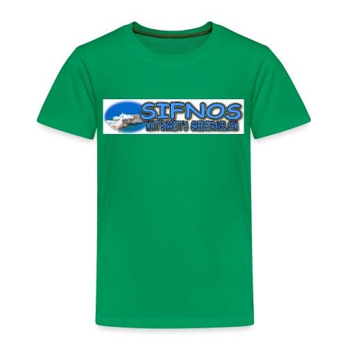 SIFNOS CHIROPIGI LONG jpg - Toddler Premium T-Shirt