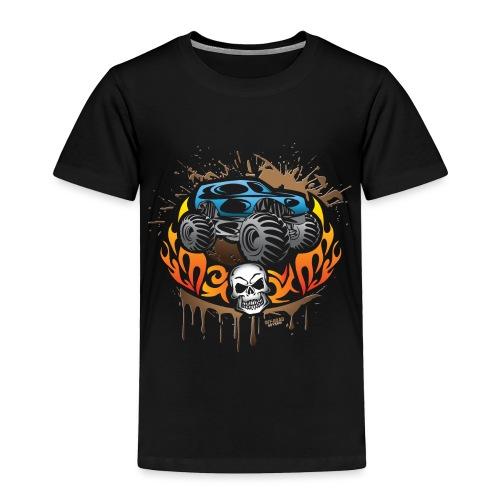 Monster Truck Shirt - Toddler Premium T-Shirt