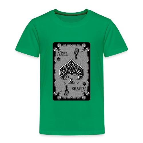 Axelofabyss Spade Card - Toddler Premium T-Shirt