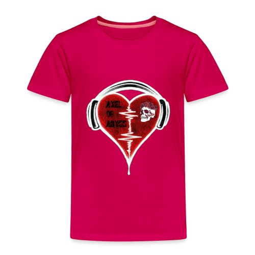Axelofabyss Music in your heart - Toddler Premium T-Shirt