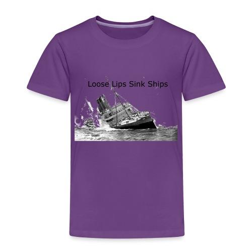 Enron Scandal Joke - Toddler Premium T-Shirt