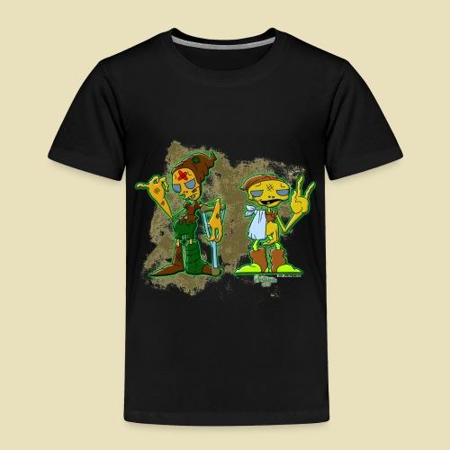 Ongher's UFO Hitchhiking Aliens - Toddler Premium T-Shirt