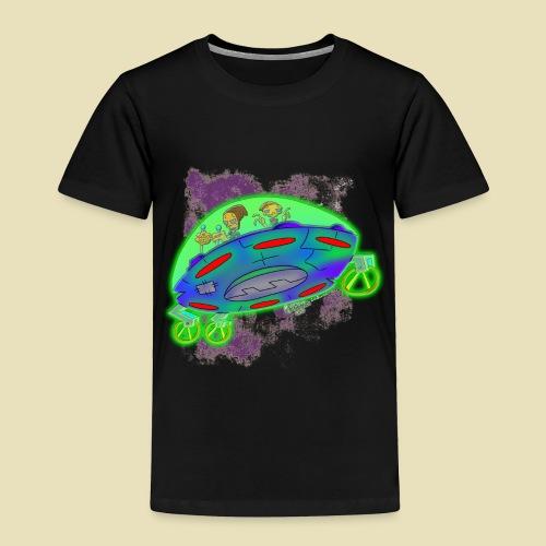 Ongher's UFO Flying Saucer - Toddler Premium T-Shirt