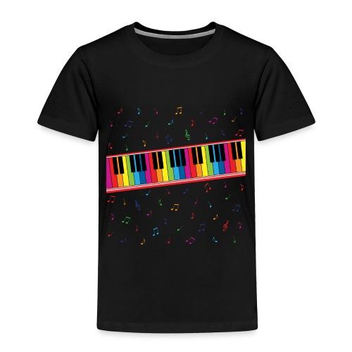 Colorful Piano - Toddler Premium T-Shirt
