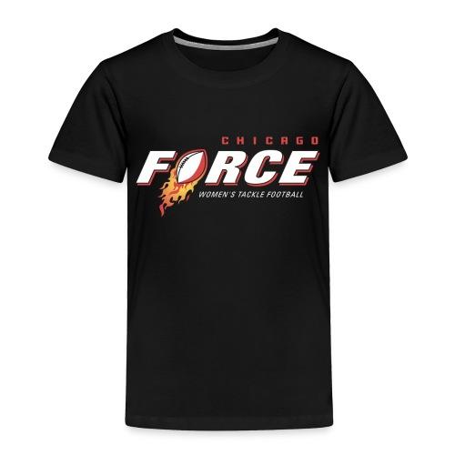 Force Logo white WTF - Toddler Premium T-Shirt