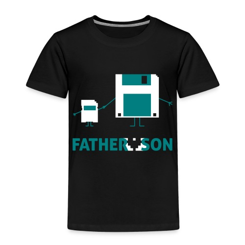 Father and Son - Toddler Premium T-Shirt