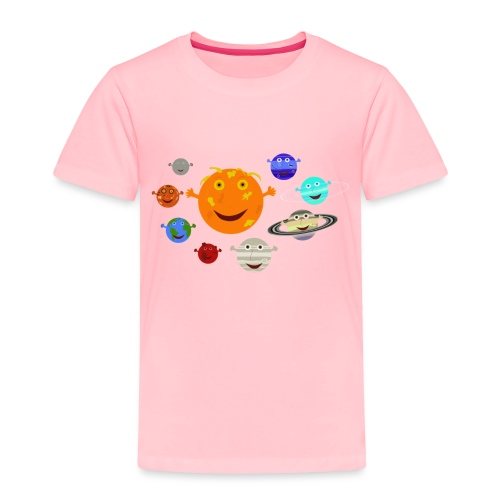 The Solar System - Toddler Premium T-Shirt