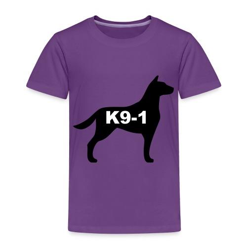 k9-1 Logo Large - Toddler Premium T-Shirt
