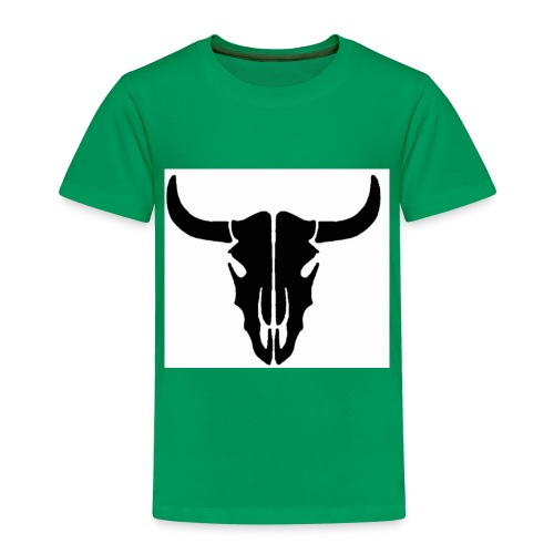Longhorn skull - Toddler Premium T-Shirt