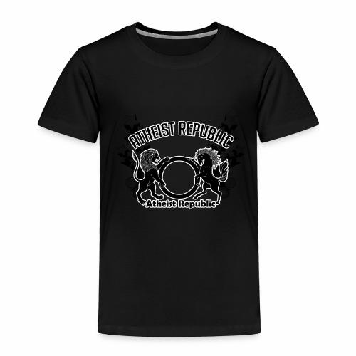 Atheist Republic Logo - Shooting Stars - Toddler Premium T-Shirt