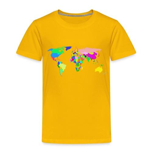 the world tshirt - Toddler Premium T-Shirt