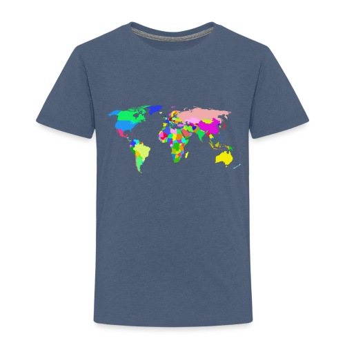 the world tshirt - Toddler Premium T-Shirt