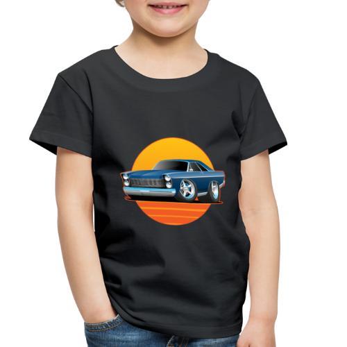 Classic Sixtes Big American Muscle Car - Toddler Premium T-Shirt