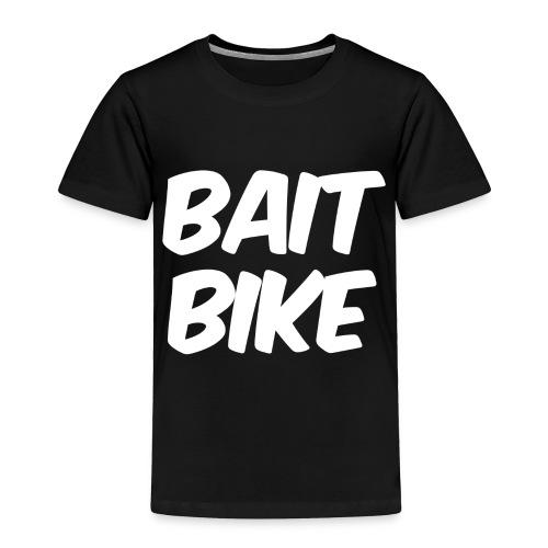 BAIT BIKE WHITE - Toddler Premium T-Shirt