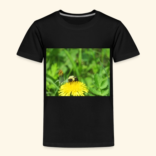 Dandelion Bee - Toddler Premium T-Shirt